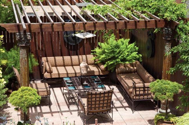 Un terrazzo da sogno per momenti di puro relax |