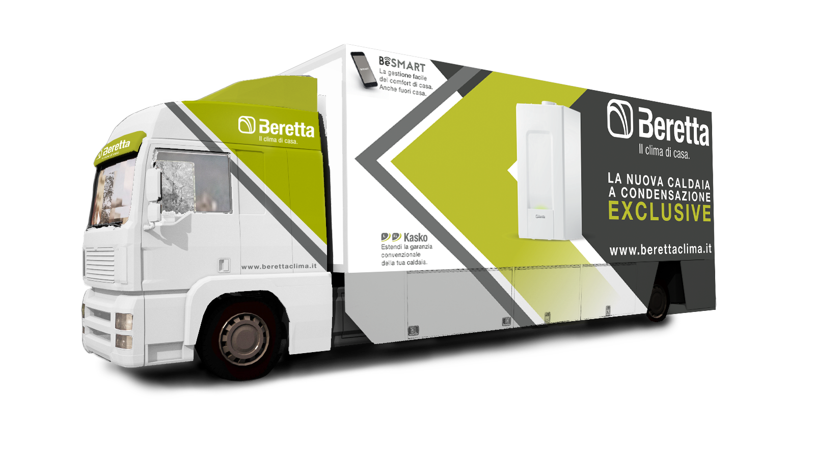 Parte il Beretta Truck Tour 2018