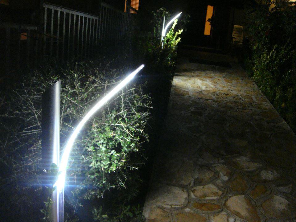 Illuminazione di un giardino come illuminare a basso costo - Porte a basso costo ...